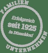 Erfolgreiches Familienunternehmen seit 1925 in Düsseldorf