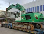 Transport Liebherr